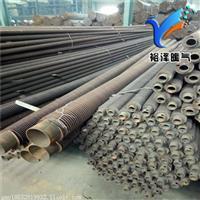 工程鋼制翅片管暖氣片 鋼柱高頻焊翅片散熱器 繞片暖氣片支持定做