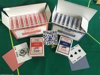 爆款上海大条码扑克广州宇华黑芯纸牌供应商