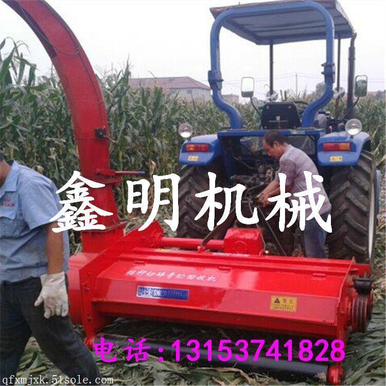 伨销苞米杆粉碎收获机 悬挂式玉米秸秆回收机